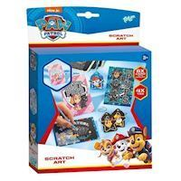 Totum Paw Patrol Make your own scratch art