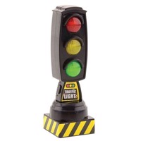 Traffic light with sound