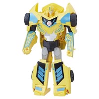 Transformers 3step changer combiner force bumblebee