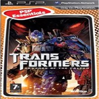 Transformers Revenge Of The Fallen Essentials Psp