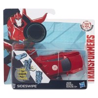 Transformers robots in disguise 1 step changers side swipe