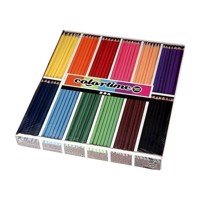 Triangular colored pencils  Basic colors, 288st