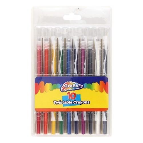 Turn Colored Pencils, 10 pcs