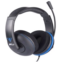 Turtle Beach P12 Stereo Gaming Headset Black