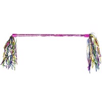 Twirling Stick Pink with Garlands