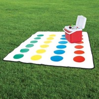 Twister Picnic Blanket Fleece