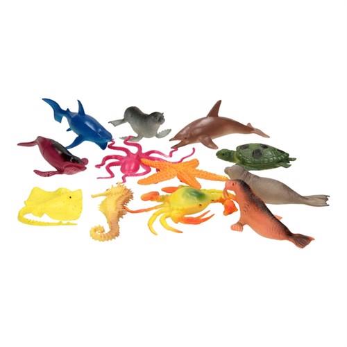 Underwater World Play Figures, 12Pcs