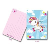 Unicorn Invitations, 8st