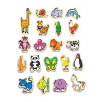 Viga Wooden Magnets Animals