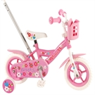 Volare -  Children's Bicycle 10'' - Yipeeh Flowerie - Pink / White