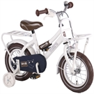 Volare - Children's Bicycle 12'' - Urban Jeans - White