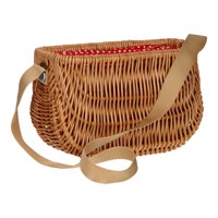 Wicker Basket With Sling