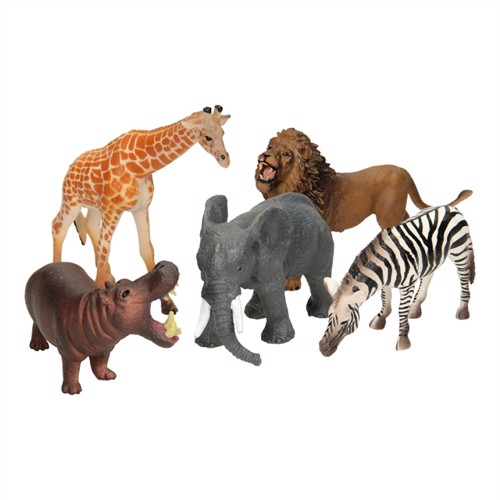 Wild Animals Luxury Playset 5Pcs