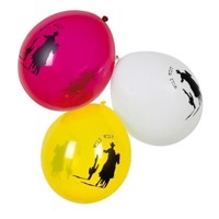 Wild West balloons, 6pcs