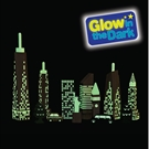 Wonderworld toy bricks Glow in the DarkSkyline