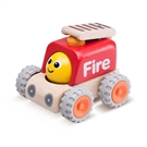 Wonderworld Wooden Smiley Fire Truck
