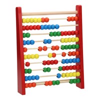 Wooden Abacus Red