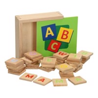 Wooden Alphabet in Box