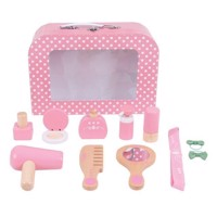 Wooden Beauty Case, 11 pcs