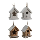 Wooden Christmas house, 11cm