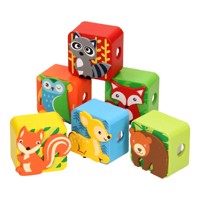 Wooden Pencil Sharpener Forest Animals