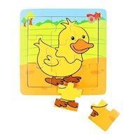Wooden Puzzle Duck