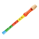 Wooden Recorder  Orange