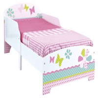 Worlds apart wooden junior bed girls 140Cm