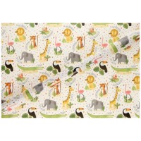 Wrapping paper Safari Animals, 2 mtr