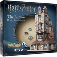 Wrebbit 3D Puzzle - Harry Potter - The Burrow - Weasley Family Home