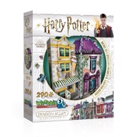 Wrebbit 3D Puzzle  Diagon Alley Collection  Madam Malkins  Florean Fortescues