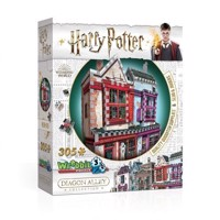 Wrebbit 3D Puzzle  Diagon Alley Collection  Quidditch Supplies  Slug  Jiggers