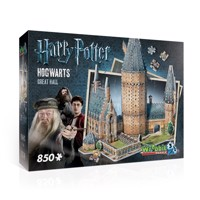 Wrebbit 3d puzzle Harry potter hogwarts greathall