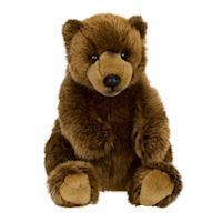 WWF Plush  Grizzly Bear, 22 cm
