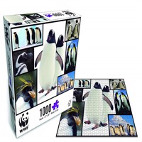 Wwf Puzzle Penguins 1000 Pcs