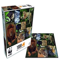 Wwf Puzzle Wild Animals 1000Pcs