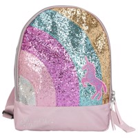 Ylvi the minimoomis small bagpack with rainbow and glitter rose