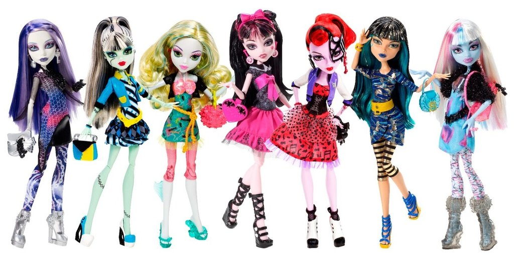 MONSTER HIGH - EVER AFTER HIGH