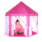 Princess dreamtent with lamp garland